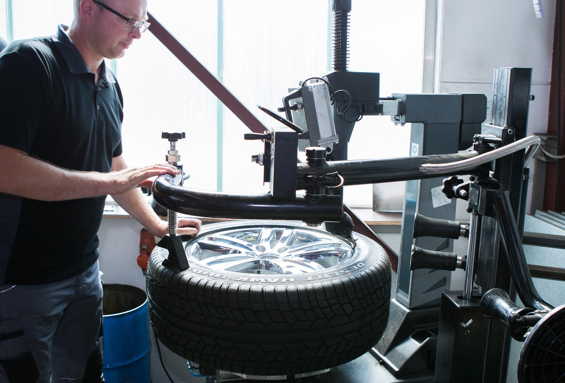 Besondere Kompetenz für besondere Reifen